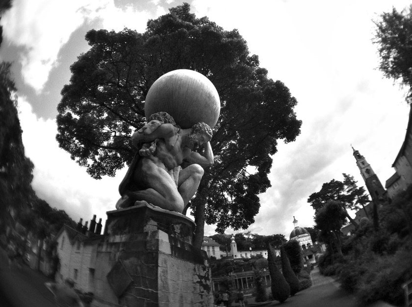 Portmerion_Fisheye_2014_Mono